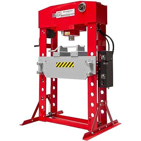 50 toneladas Prensa hidr/áulica de taller Holzmann WP50H