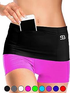 Stashbandz Running, Insulin Pump, and Money Belt, Travel Pouch, Sports & Workout Waist Pack, Fanny Pack Pocket Belt with 3...