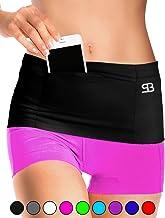 Stashbandz Running Belt Waist Pack, Travel Money Bag, Sports Pouch Fanny Pack Workout Belt, 3 Large Security Pockets Plus ...