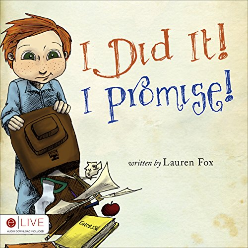 I Did It! I Promise! audiobook cover art