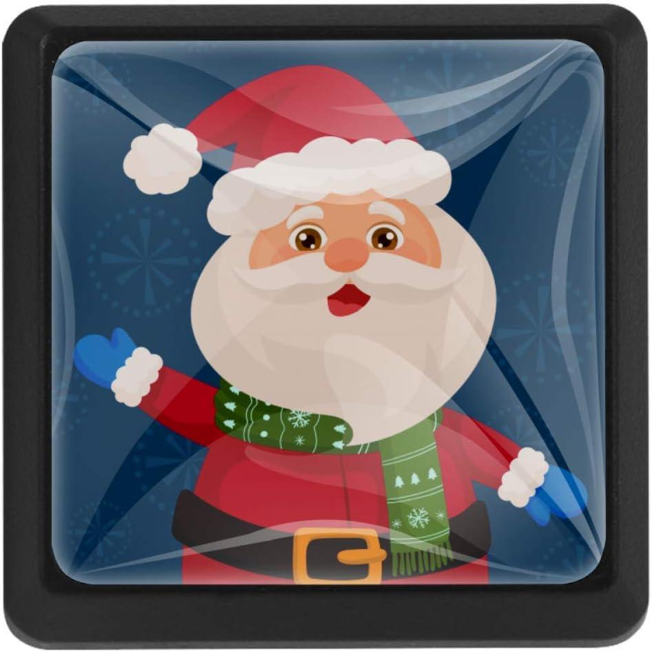 Shiiny Santa Claus Blue Square Drawer Pulls Handles Knobs - Max Max 48% OFF 41% OFF Kitc