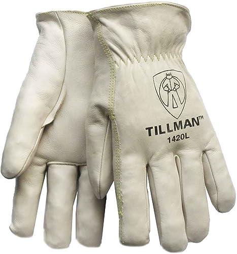 high quality Tillman 1420L outlet sale Top Grain Cowhide 2021 Drivers Gloves - L outlet sale