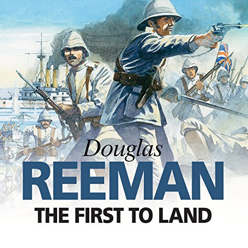 The First to Land audiobook cover art