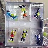 LiuliuBull L Arte de Vidrio Tortuga Figurines Decoración del Acuario Miniatura Hecho a Mano Hecho de Dibujos Animados Adornos de Animales Multi Forma Tortuga (Color : Mottled)