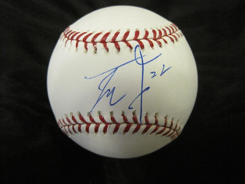 Yoshinori Tateyama Signed BallOfficial Major League W coaAutographed Baseballs
