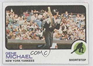 gene michael baseball card