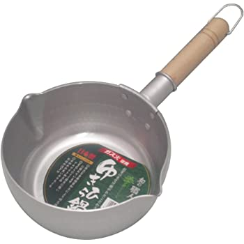 谷口金属 日本製 和の職人 誉ゆきひら鍋 シルバー 18cm 容量:1.8L ガス火専用 軽くて使い易い 熱伝導がよいアルミニウム製