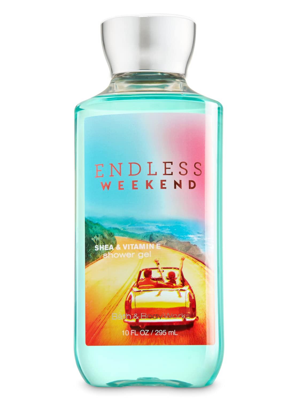 Bath and Body Works Endless Weekend Shower Gel Body Wash 10 Ounce