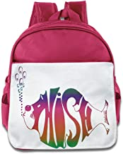 HYRONE Phish Band Boys And Girls School Bagpack For 1-6 Years Old RoyalBlue