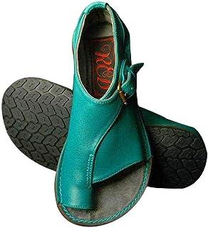 c1c0d225 Goglor Cómodos Zapatos Ortopedicos Mujer Plataformas Planas Sandalias, Toe  Bunion Terapia Corrección Sandalias Mujer Niña