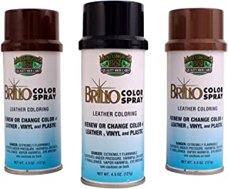 JWONG Moneysworth & Best Brillo Color Spray Leather Coloring 017 WHITE 4.5 OZ