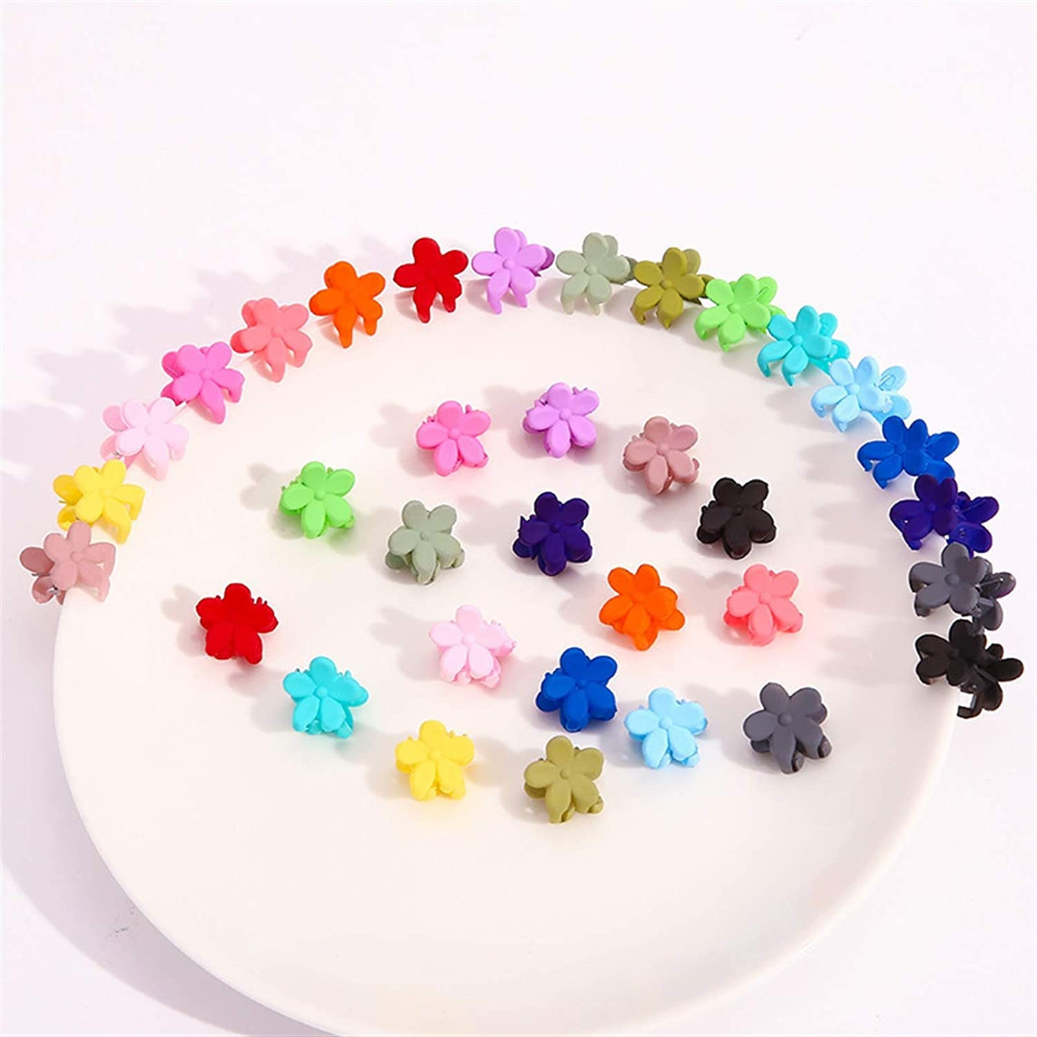 whbage Hairpin Clearance SALE! Limited time! 20PCS Flower Hair Direct stock discount Fashion Baby Small Clips Girls