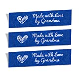 Wunderlabel Made with Love by Grandma Mix Thread gewebte