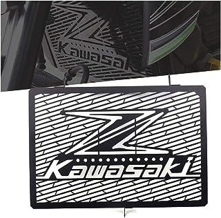 Kawasaki Z750/Z800/Z1000 Motorrad Zubehör Kühler Kühlerabdeckung Kühlerschutz Ölkühler Radiator Motorräder Aluminium Kühlerschutzgitter Kühlergitter Schutzgitter Wasserkühler Wasserkühlerschutz