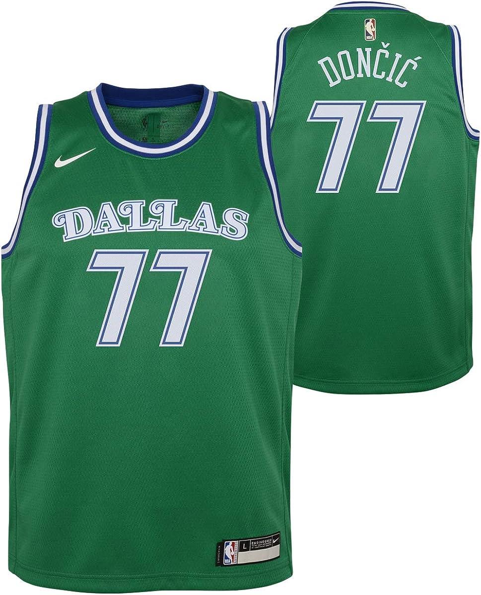 Luka Doncic Dallas Mavericks #77 8-20 Hardwood Youth Class Ranking TOP14 low-pricing Green