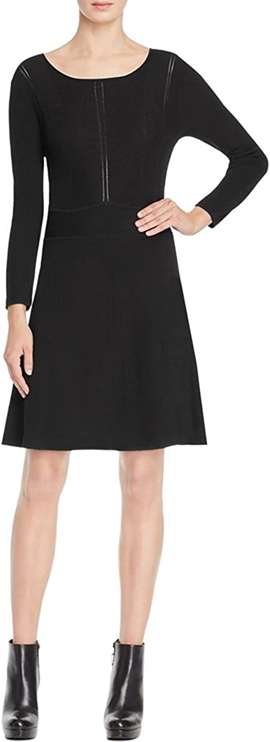 Laundry by Shelli Segal Womens Stretch Crew Neck Cocktail Dress