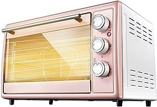 30L Rosa Multifuncional Horno Eléctrico Automático Cake Makers Acero Inoxidable 4 Tubo De Calentamiento Independiente 60Min Temporización