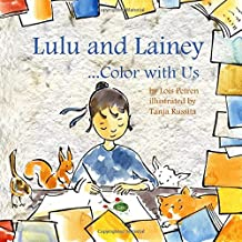 Lulu and Lainey ... Color with Us
