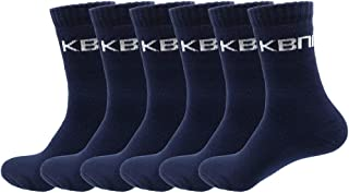 Mens Heavy Duty Work Socks, KBNI Extra Thick Cushion Premium Bamboo Fibre Socks