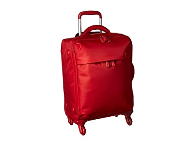 Lipault Paris Original Plume 22 Spinner Carry On (Cherry Red) Carry on Luggage