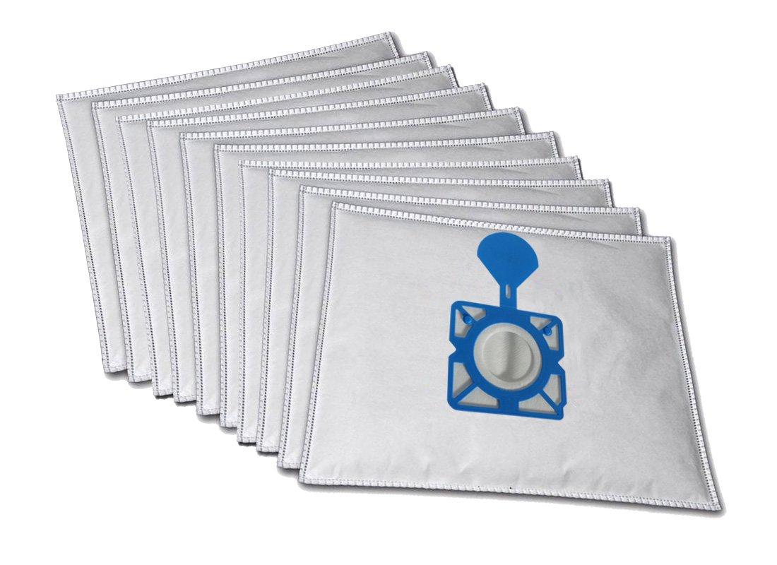10 bolsas para aspiradora premio compatible con Moulinex Compact 250: Amazon.es: Hogar