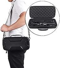 Hard Travel Case for Zhiyun Smooth 4 Handheld Gimbal Stabilizer,Tripod Stand Carry Bag Protective Box Handbag (Black)