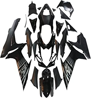 NT FAIRING Black Injection Mold Fairings Fit for Suzuki 2011-2015 GSXR 600 750 K11 GSX-R600 2011 2012 2013 2014 2015 Aftermarket Painted Kit ABS Plastic Set Motorcycle Bodywork