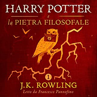 Couverture de Harry Potter e la pietra filosofale (Harry Potter 1)