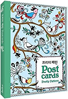 Coloring Books for Adult Relaxation DIY Stationery Cards Set with 25 Pattern Designs Coloring Stationery Note Cards Postcards, Hand Drawn Hand Written Greeting Card (Pattern)