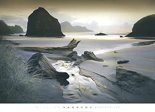 She Sleeps In the Sand Art Print by William Vanscoy 36 x 26in