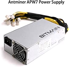 AntMiner Bitmain New Power Supply APW7 PSU 1800w 110v 220v Much Better Than APW3++ for S9 or L3+ or Z9 Mini or D3 w/ 10 Connectors