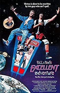 Bill and Ted's Excellent Adventure - 1989 - Movie Poster