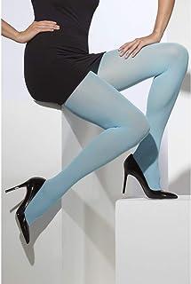 Fever Smiffys Fever Damen Blickdichte Strumpfhose, One Size, Blau, 42725