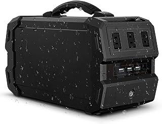 LACITA 第3世代 水に強い ポータブル電源 エナーボックス ENERBOX-SP 444Wh/120000mAh/400W 防塵 防沫 IP44 防水規格 コンパクト 軽量 大容量 電源