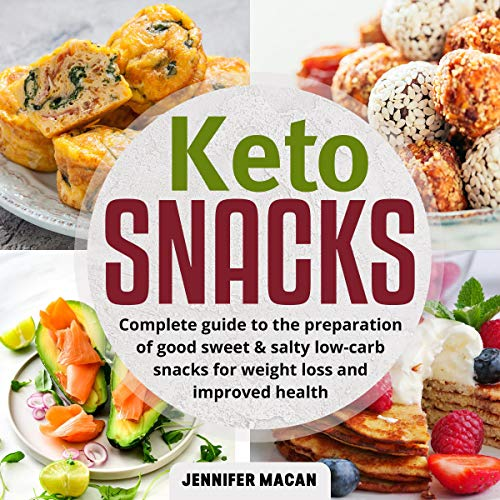 Couverture de Keto Snacks