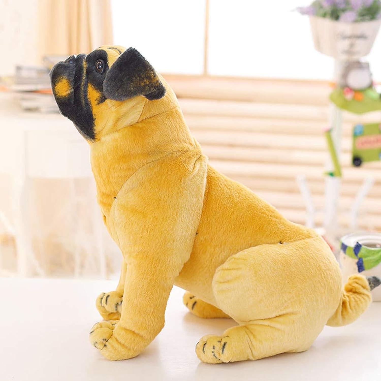 Plüschtier Pugs Simulation Tierpuppen Plüschtier Hund Puppen Kinder Geburtstagsgeschenke B07K47CS55 Zu einem erschwinglichen Preis     | In hohem Grade geschätzt und weit vertrautes herein und heraus