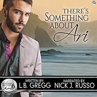 There's Something about Ari audiobook cover art