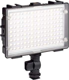 Kaiser Fototechnik 3280 LED Leuchte Star Cluster 144 Vario 13 x 8 cm Panel mit 144 High CRI LEDs schwarz