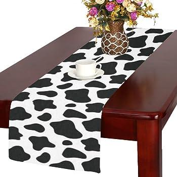 Beistle Pack of 3 Printed Cow Print Table Runner