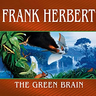The Green Brain audiobook cover art