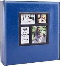 Álbum de fotos Artmag com capacidade extra grande 10 x 15 cm, Azul, 1000 Pockets
