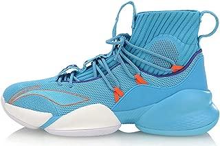 LI-NING CJ McCollum Men Power V Playoff Professional Basketball Shoes Lining Cushioning Cloud Sport Shoes Sneakers Blue ABAP023-2D US 12