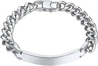 Best mens id bracelet Reviews