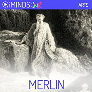 Merlin audiobook cover art