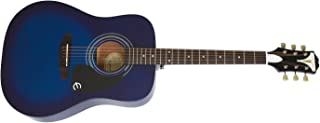Epiphone 6 String PRO-1 Acoustic, Trans Blue (EAPRTLCH1)