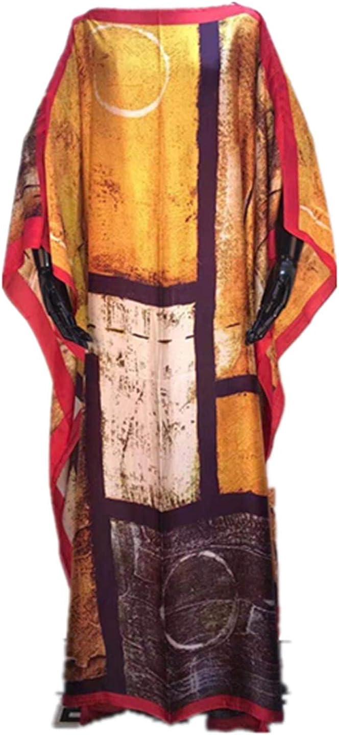 Dedication Dashiki Dress Print Bohemia Silk Hijab shop Elegant Scarf Loose Musli