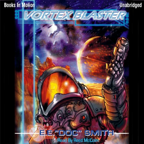 The Vortex Blaster audiobook cover art