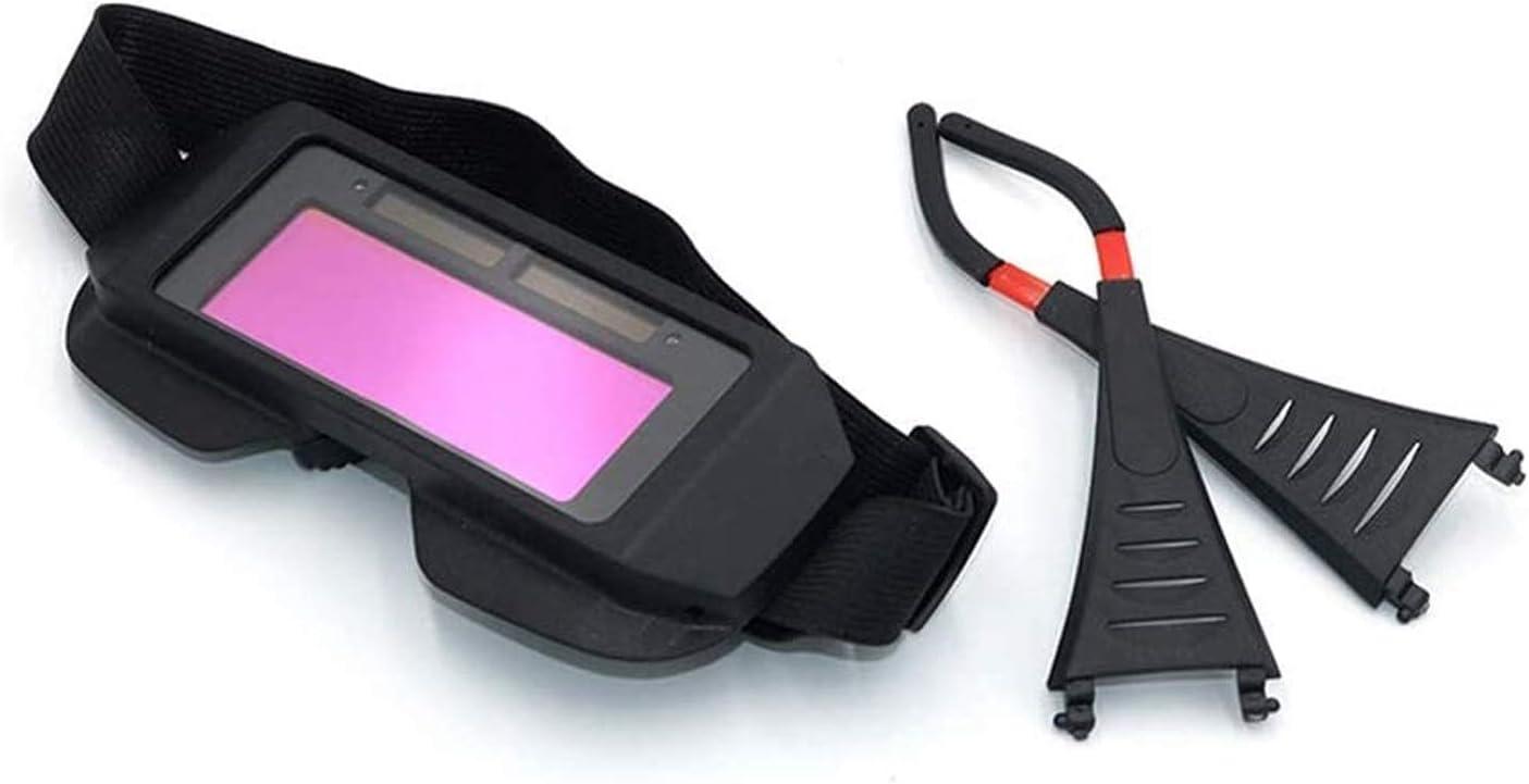 WYKDL Soldadura argón Arco Soldado Soldador Gafas Gafas Protector Gafas de Soldadura regulación automática ADimulación Solar Anti-deslumbramiento ARC Soldadura