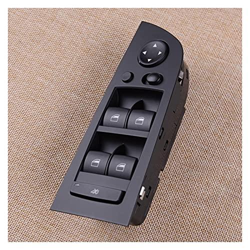 Agnus Interruptor de Control de Ventana eléctrica de Coche Negro Abdominales Adecuado BMW 3 E90 32 0i 325i 330i 61319217332 61319132135 61316948632 9216332