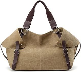 Fansela(TM) New Women Canvas Crossbody Shoulder Handbag Hobo Bags